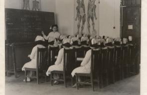 Nursing students in China circa 1935
