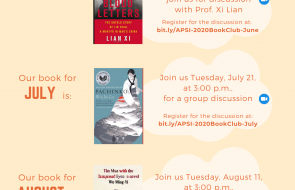 APSI Summer Book Club - series flyer